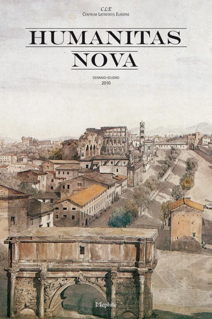 Copertina Humanitas Nova gennaio-giugno 2010